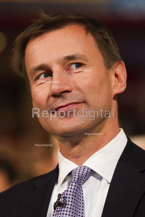 Jeremy Hunt MP. Conservative Party Conference 2012, Birmingham. - Jess Hurd - 2012-10-09