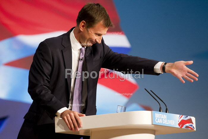 Jeremy Hunt MP. Conservative Party Conference 2012, Birmingham. - Jess Hurd - 2012-10-09