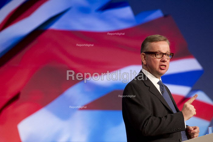 Michael Gove MP. Conservative Party Conference 2012, Birmingham. - Jess Hurd - 2012-10-09