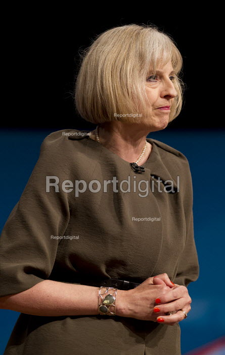 Theresa May MP. Conservative Party Conference 2012, Birmingham. - Jess Hurd - 2012-10-09