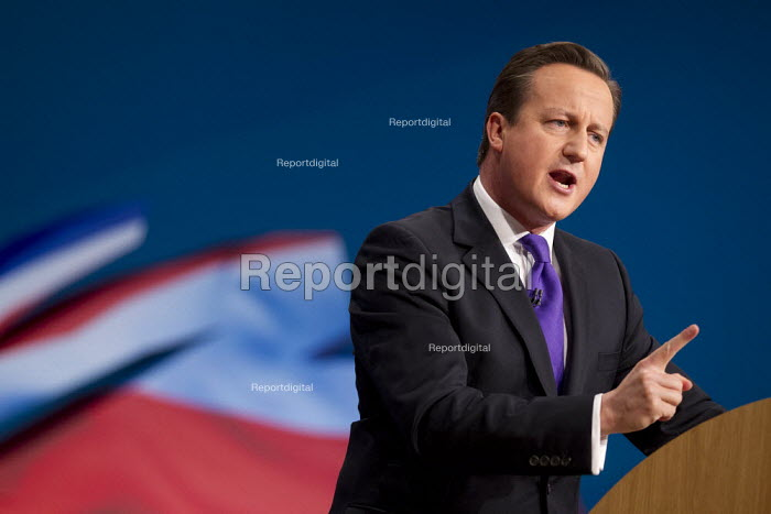 David Cameron MP - leaders speech. Conservative Party Conference 2012, Birmingham. - Jess Hurd - 2012-10-10