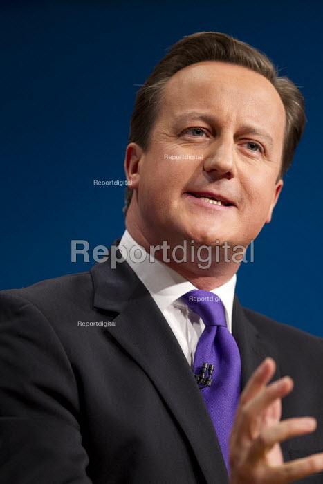 David Cameron MP - leaders speech. Conservative Party Conference 2012, Birmingham. - Jess Hurd - 2012-10-10