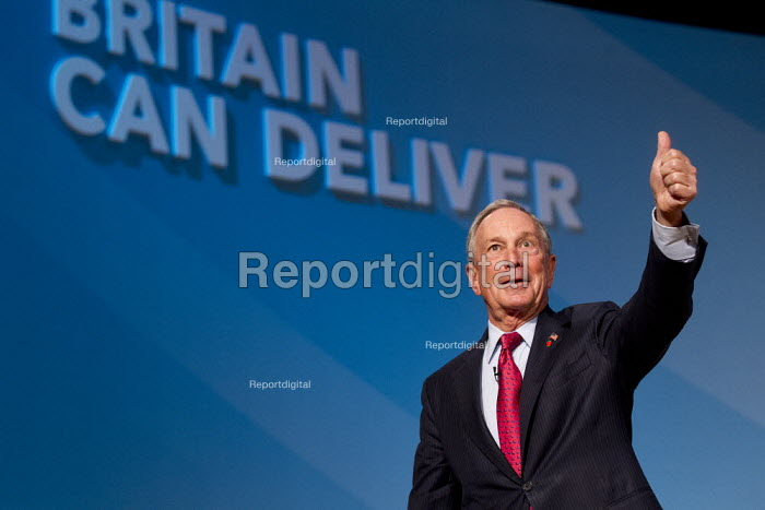 NYC Mayor Bloomberg. Conservative Party Conference 2012, Birmingham. - Jess Hurd - 2012-10-10