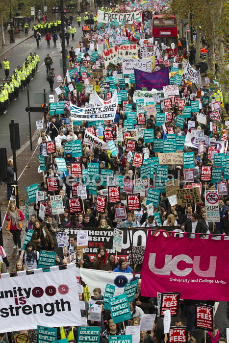 National Student Demonstration - Educate, Employ, Empower. London. - Jess Hurd - 2012-11-21