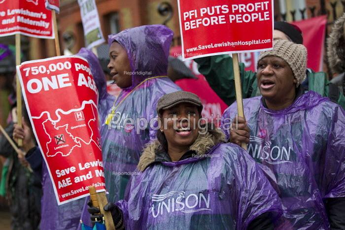 March to save Lewisham Hospital and Maternity. Lewisham, London. - Jess Hurd - 2012-11-24