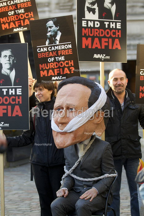 The final report of the Leveson Enquiry into media ethics is delivered by Lord Leveson. QEII Centre, London. - Jess Hurd - 2012-11-29