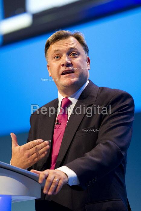 Ed Balls MP. Labour Party Conference 2013. Brighton. - Jess Hurd - 2013-09-23