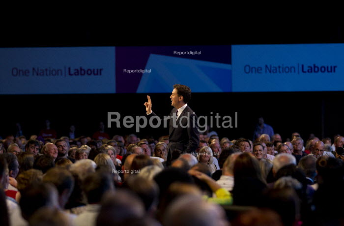 Ed Miliband MP - leaders speech. Labour Party Conference 2013. Brighton. - Jess Hurd - 2013-09-24