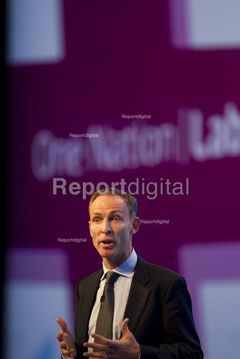 Jim Murphy MP. Labour Party Conference 2013. Brighton. - Jess Hurd - 2013-09-23