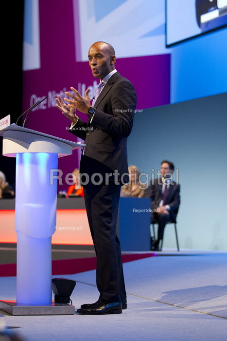 Chuka Umunna MP. Labour Party Conference 2013. Brighton. - Jess Hurd - 2013-09-23