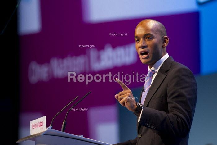 Chuka Umunna MP. Labour Party Conference 2013. Brighton. - Jess Hurd - 2013-09-23