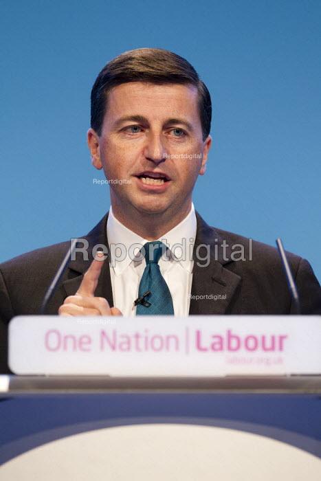 Douglas Alexander MP. Labour Party Conference 2013. Brighton. - Jess Hurd - 2013-09-23