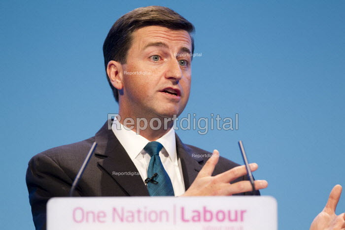 Douglas Alexander MP. Labour Party Conference 2013. Brighton. - Jess Hurd - 2013-09-23