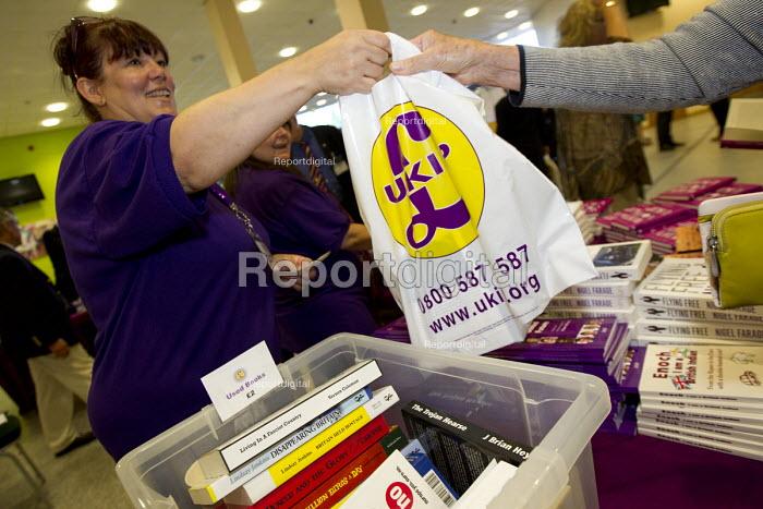 Bookshop, UKIP Annual Conference, Doncaster. - Jess Hurd - 2014-09-26