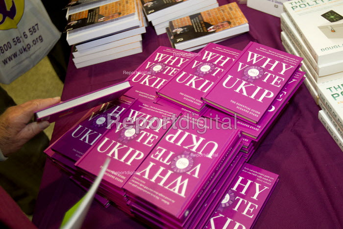 Why Vote UKIP 2015 by Suzanne Evans, Bookshop, UKIP Annual Conference, Doncaster. - Jess Hurd - 2014-09-26