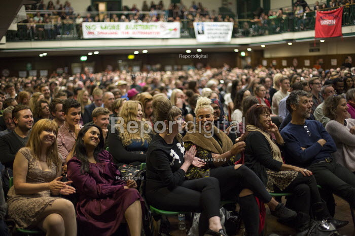 The People's Assembly, People's Question Time. York Hall, Tower Hamlets. East London. - Jess Hurd - 2014-10-09
