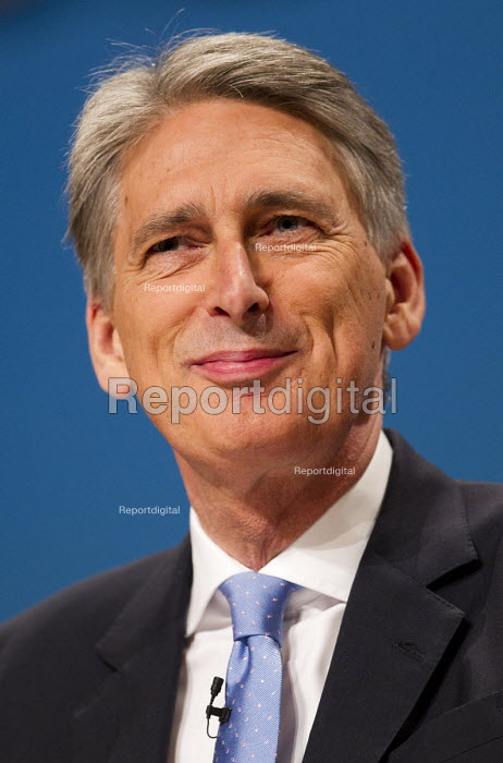 Philip Hammond MP speaking Conservative Party Conference, The ICC Birmingham - Jess Hurd - 2014-10-01
