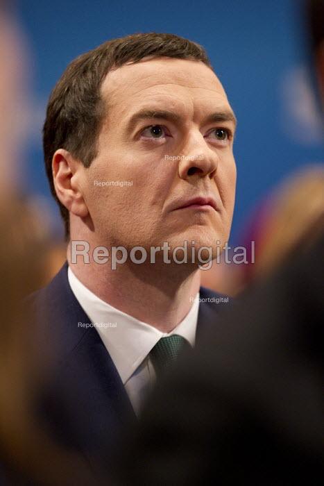 George Osborne MP. Conservative Party Conference, The ICC Birmingham - Jess Hurd - 2014-10-01