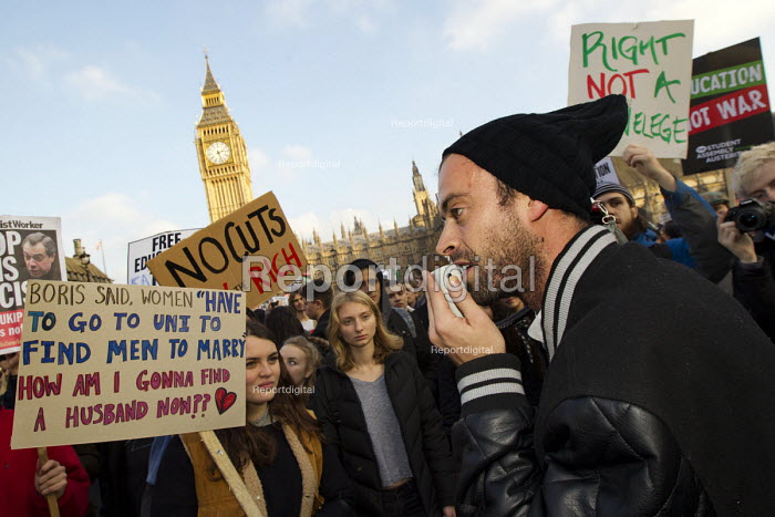 Thousands of students march against debt and for free education, London - Jess Hurd - 2014-11-19