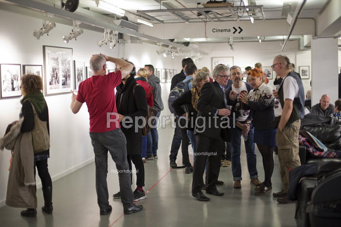 Still The Enemy Within, miners strike exhibition at Rich Mix, London. - Jess Hurd - 2014-12-05