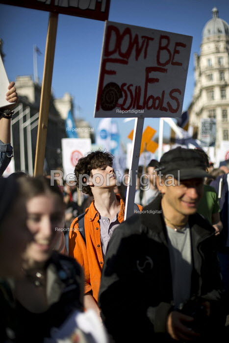 Time to Act! Climate Change National Demonstration. London. - Jess Hurd - 2015-03-07
