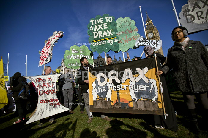Time to Axe Drax coal fired power station Time to Act! Climate Change National Demonstration. London. - Jess Hurd - 2015-03-07