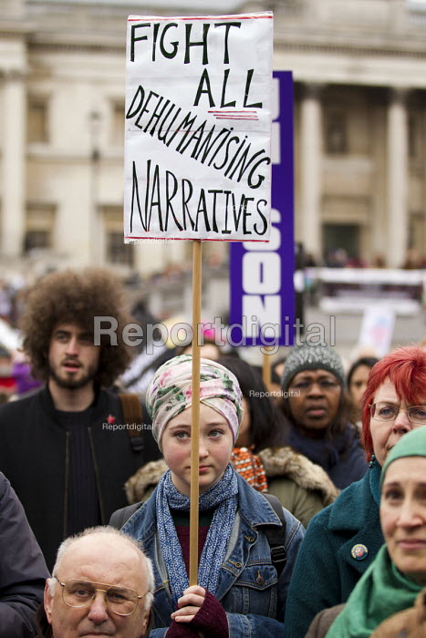 Stand up to racism & fascism, national demonstration. London. - Jess Hurd - 2015-03-21