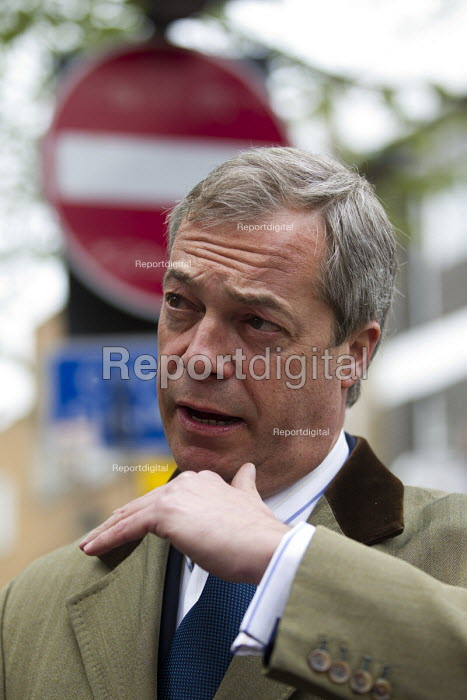 UKIP election campaigning for Nigel Farage in Thanet. - Jess Hurd - 2015-05-02