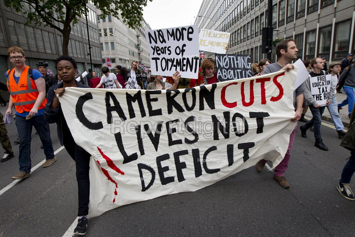 Anti austerity protests on the day of the Queens Speech... - Jess Hurd, jj1505212.jpg