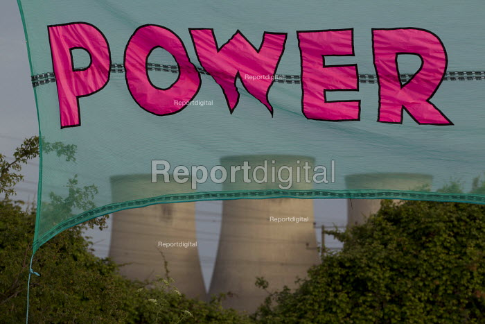 Reclaim The Power protest camp against the fossil fuel industry, Didcot Power Station. Oxfordshire. - Jess Hurd - 2015-06-01