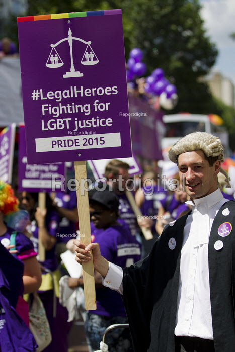 Legal Heroes Fighting for LGBT Justice Pride in London Parade 2015 - Jess Hurd - 2015-06-27