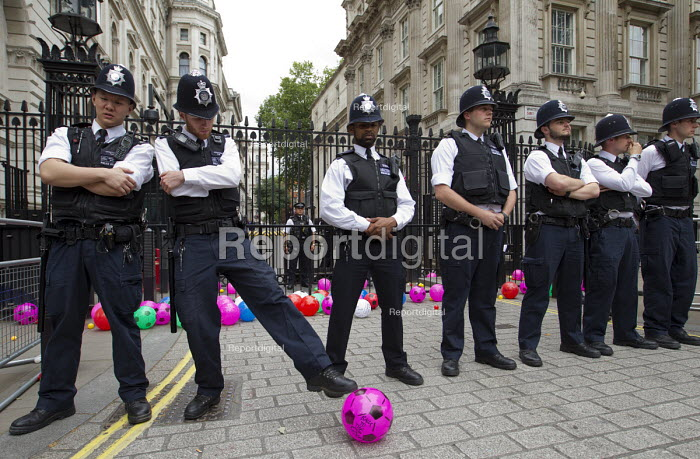 Balls To The Budget, Disabled People Against Cuts throwing... - Jess Hurd, jj150740.jpg