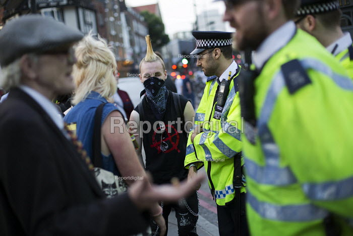 Class War - Gentrify This. Fuck Parade, party and protest against gentrification. Camden. London. - Jess Hurd - 2015-07-11
