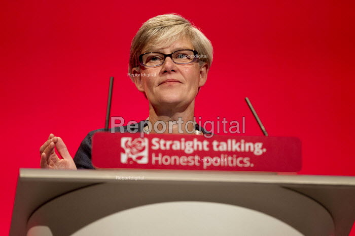 Kate Green MP speaking at Labour Party Conference Brighton. - Jess Hurd - 2015-09-27