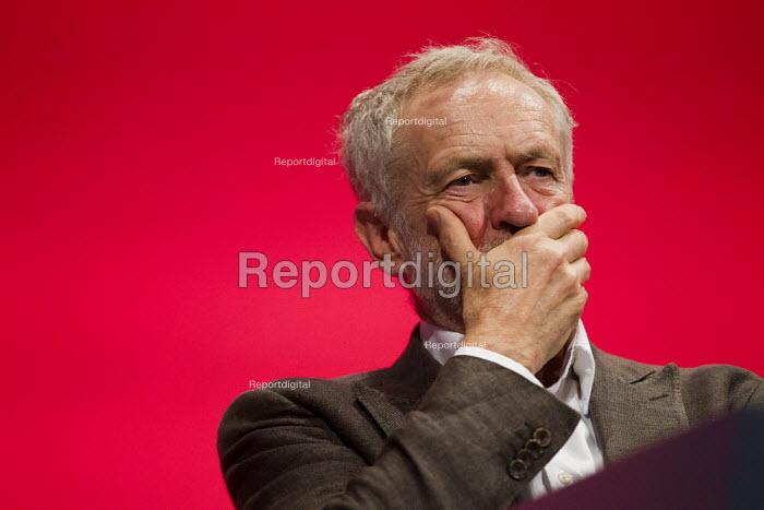 Jeremy Corbyn MP, leader. Labour Party Conference Brighton. - Jess Hurd - 2015-09-27
