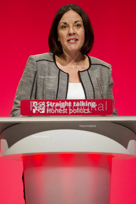 Kezia Dugdale MP speaking at Labour Party Conference Brighton. - Jess Hurd - 2015-09-27