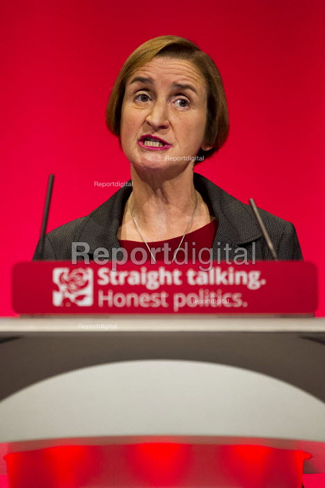 Nia Griffiths MP speaks at Labour Party Conference Brighton. - Jess Hurd - 2015-09-27