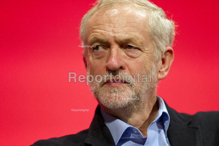 Jeremy Corbyn, Labour Party Conference, Brighton. - Jess Hurd - 2015-09-28