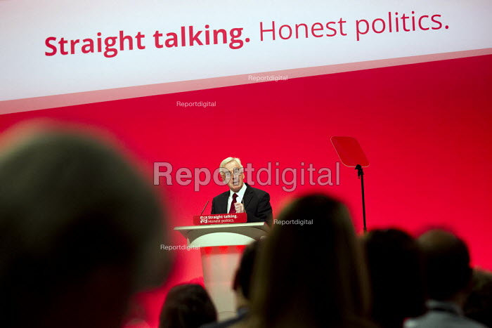 John McDonnell MP speaking Labour Party Conference, Brighton. - Jess Hurd - 2015-09-28
