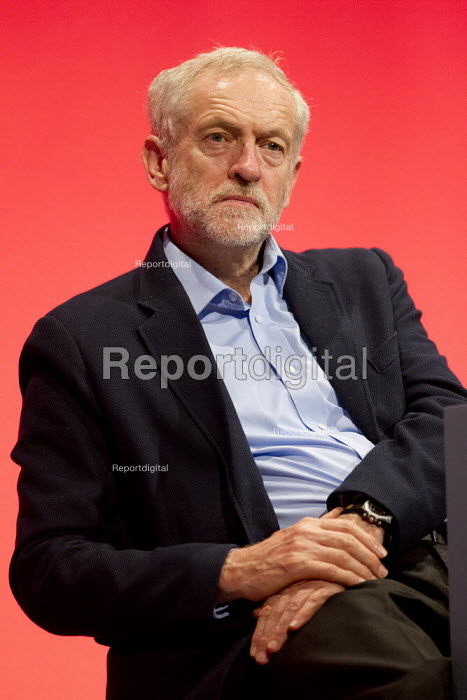 Jeremy Corbyn MP. Labour Party Conference, Brighton. - Jess Hurd - 2015-09-28