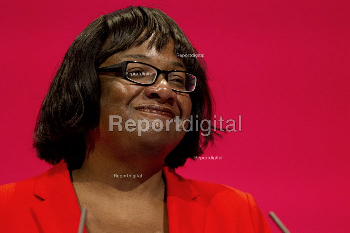 Diane Abbott MP speaking Labour Party Conference, Brighton. - Jess Hurd - 2015-09-28