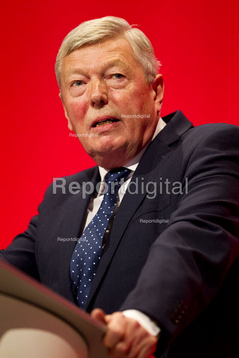 Alan Johnson MP speaking Labour Party Conference, Brighton. - Jess Hurd - 2015-09-28