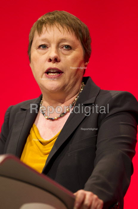 Maria Eagle MP speaking Labour Party Conference, Brighton. - Jess Hurd - 2015-09-28