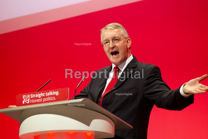 Hilary Benn MP speaking Labour Party Conference, Brighton. - Jess Hurd - 2015-09-28