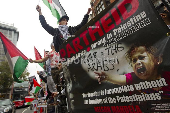 Palestine Solidarity Campaign Protest For Palestine, Israeli Embassy London - Jess Hurd - 2015-10-17
