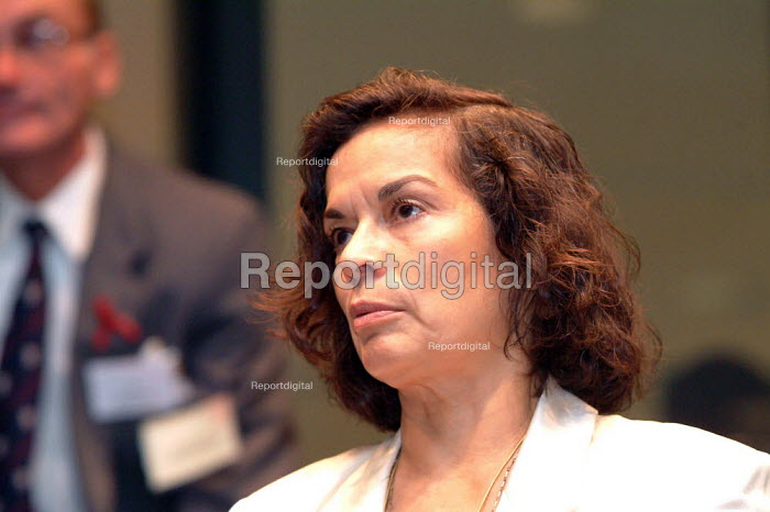 Bianca Jagger at the World AIDS Day Diana Princess of Wales Memorial Lecture, City Hall, London. - James Jenkins - 2003-12-01