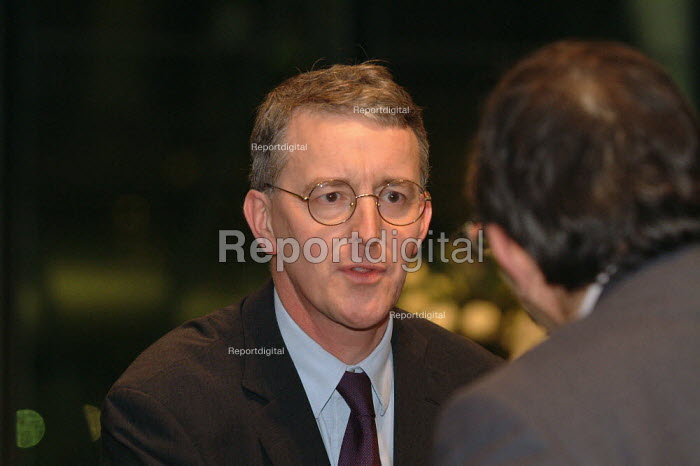 Hilary Benn MP at the World AIDS Day Diana, Princess of Wales, Memorial Lecture, City Hall, London. - James Jenkins - 2003-12-01