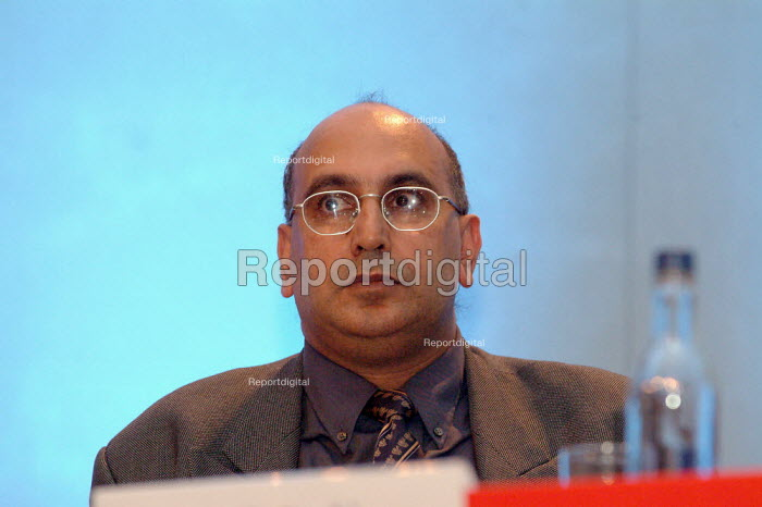 Atma Singh, Policy Director to the Mayor of London, The London Conference, QEII Conference Centre, London. - James Jenkins - 2003-11-29