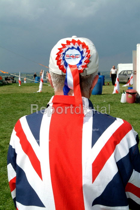 "British National Party councillor ""Red, White & Blue"" festival, Sawley, Lancashire - James Jenkins - 2003-08-16"