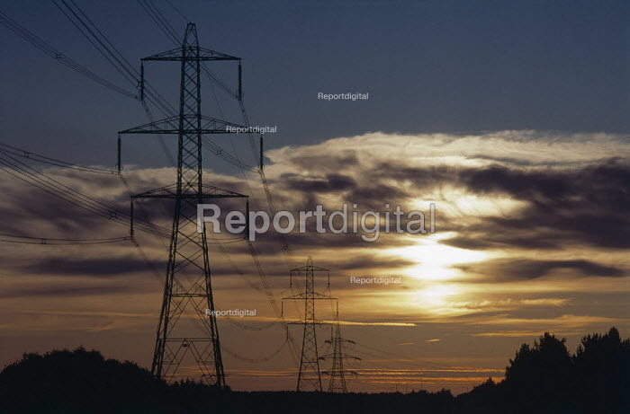 High voltage electric power lines. - Paul Carter - 2001-04-25